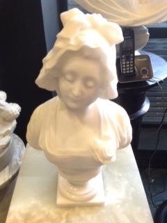 French Marble Bust, Signed A.Gori